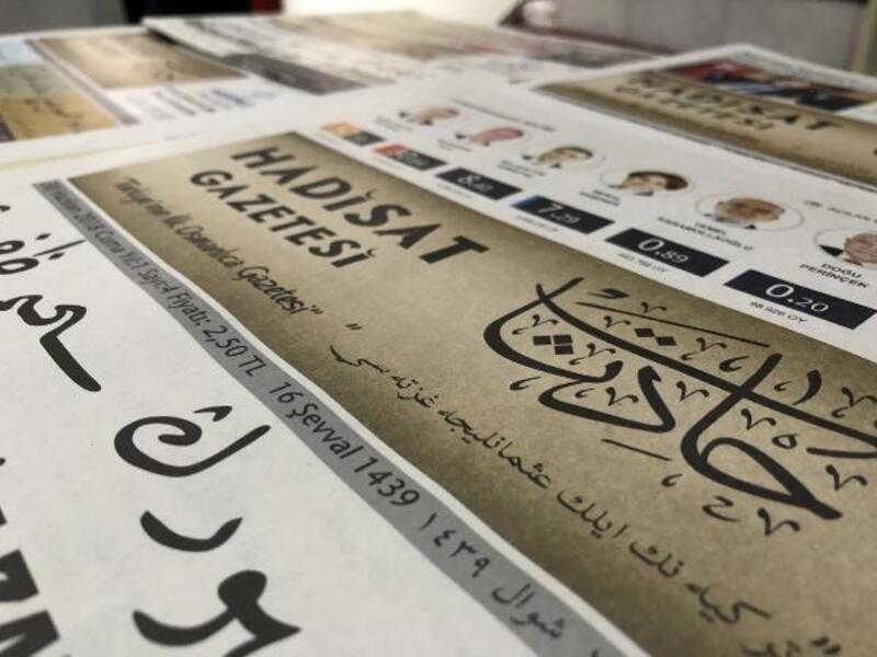 Yeni nesil için Osmanlıca gazete çıkarıyor