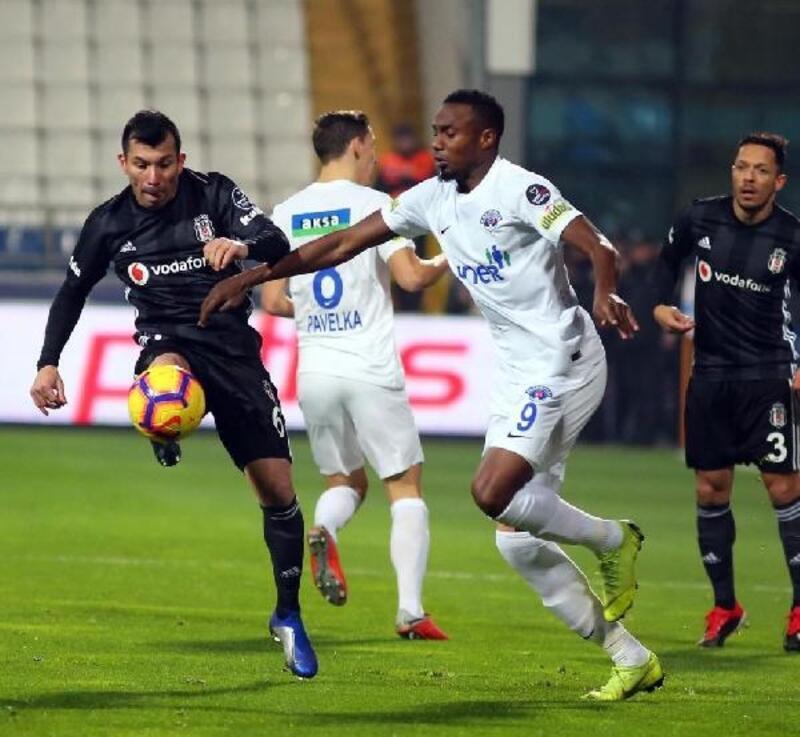 Kasımpaşa - Beşiktaş (FOTOĞRAFLAR)