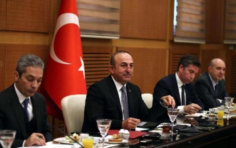 Çavuşoğlu: Suriye'de boşluğun terör örgütleri tarafından doldurulmaması için çalışıyoruz