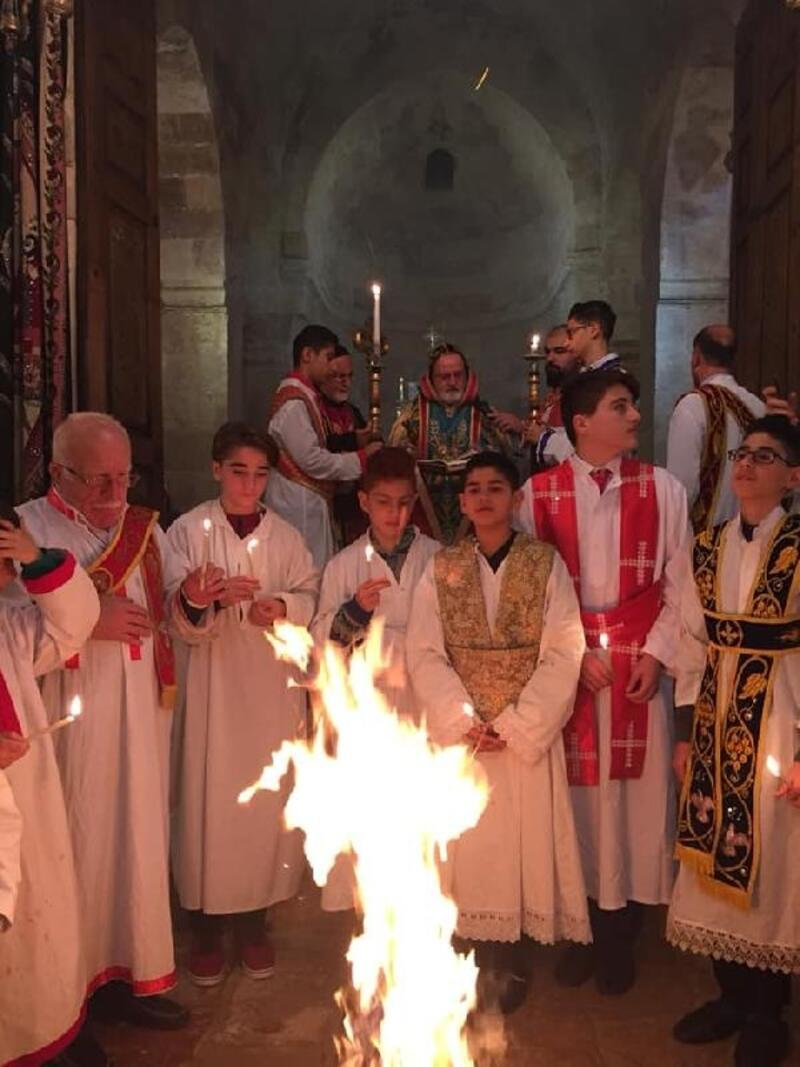 Mardin ve Midyat'ta Noel ayini