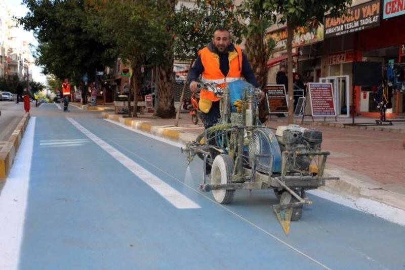 Büyükşehir'den kesintisiz bisiklet yolu