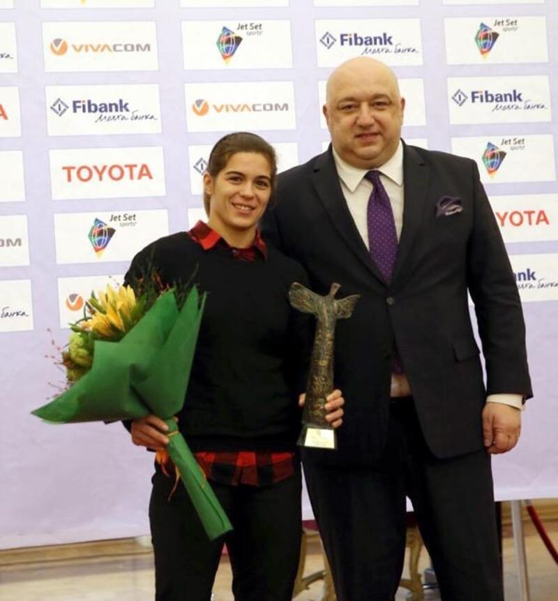 Bulgaristan'da yılın sporcusu Taybe Hüseyin oldu