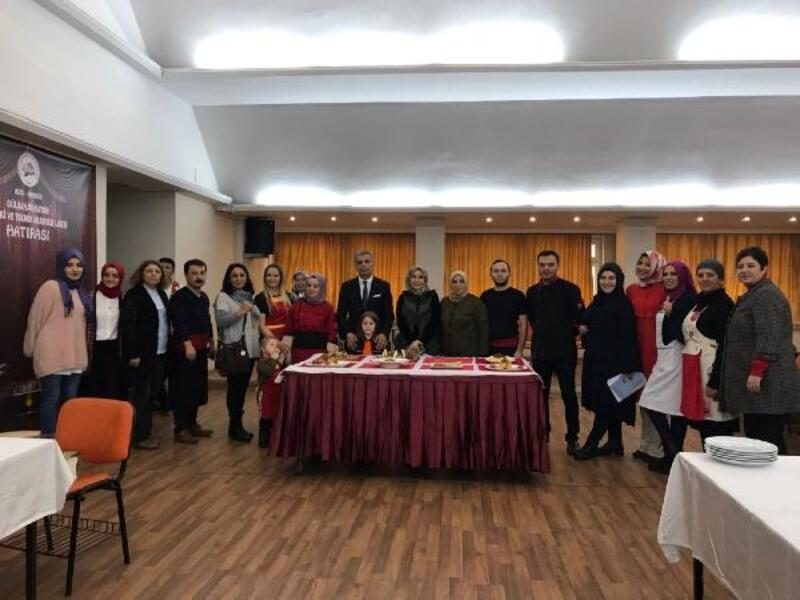 Rize'de öğretmenler yemekleri ile yarıştı