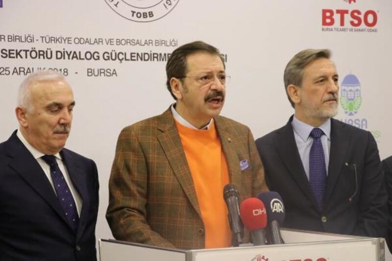 TOBB Başkanı Hisarcıklıoğlu: Çalkantılı dönemler yaşadık ama hepsini aştık