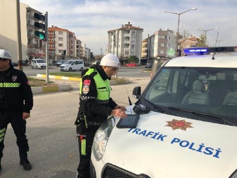 Gelibolu'da sürücülere ceza yağdı