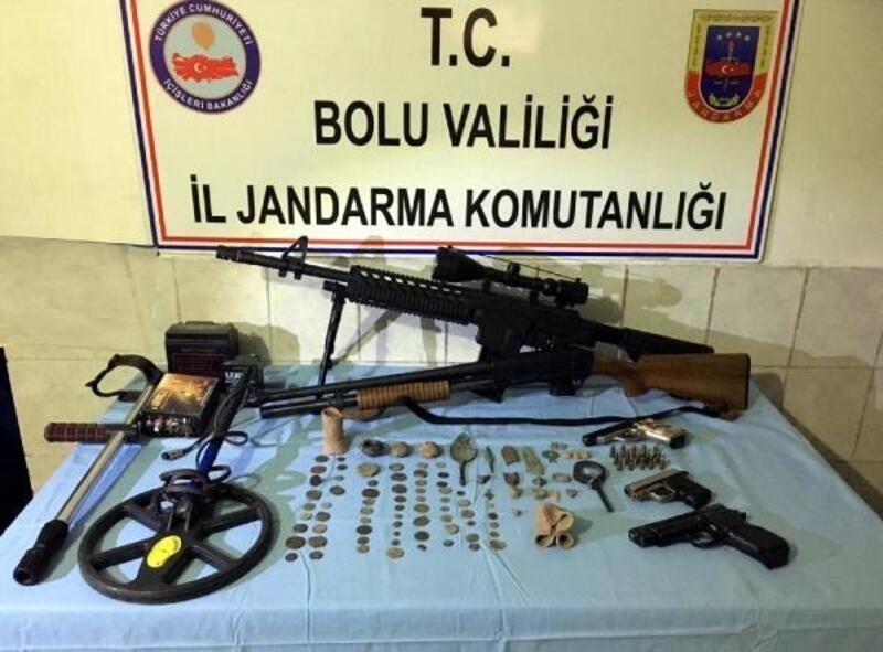 Bolu'da tarihi eser operasyonu