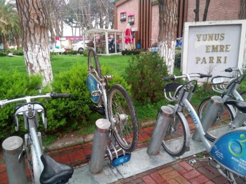 Ordu'da akıllı bisikletler ve engelli şarj istasyonlarına zarar verildi