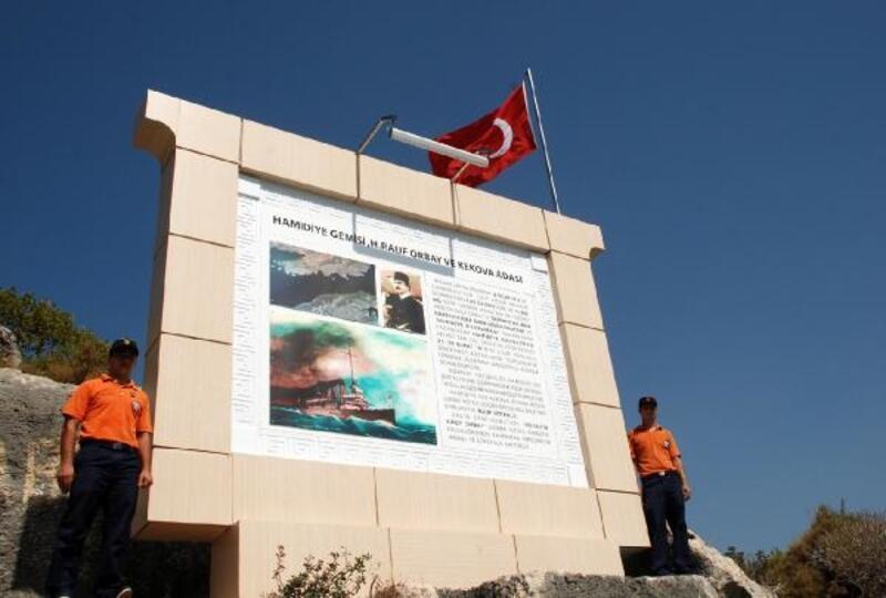 Hamidiye ve Rauf Orbay levhaları yenilendi