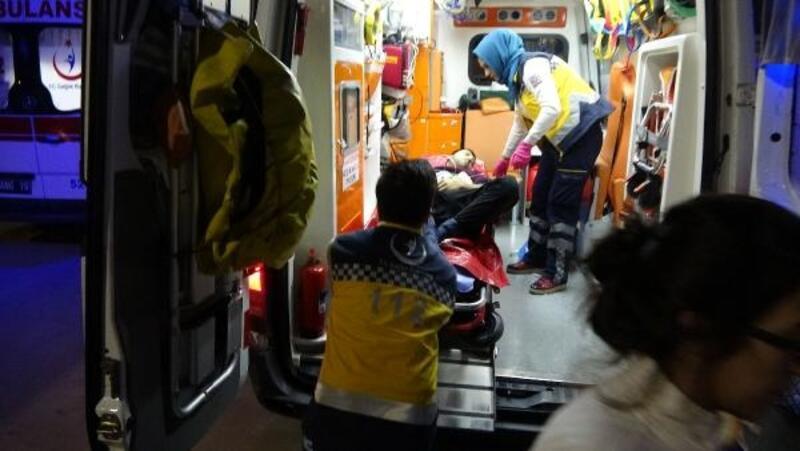 Suriyeli grup, Suriyelilerin evini bastı: 2 yaralı