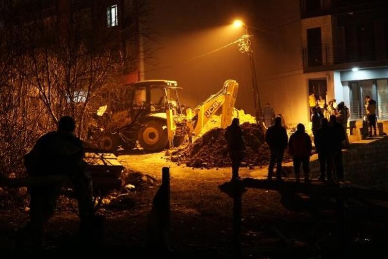 Eyüpsultan'da doğalgaz hattı çalışmasında göçük: 1 ölü