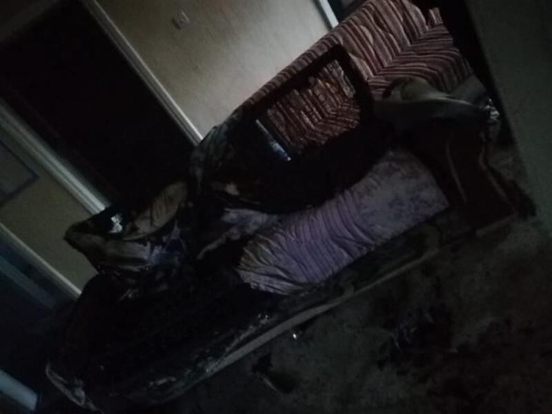 Sigara içerken uykuya dalan yaşlı kadın, çıkan yangında öldü