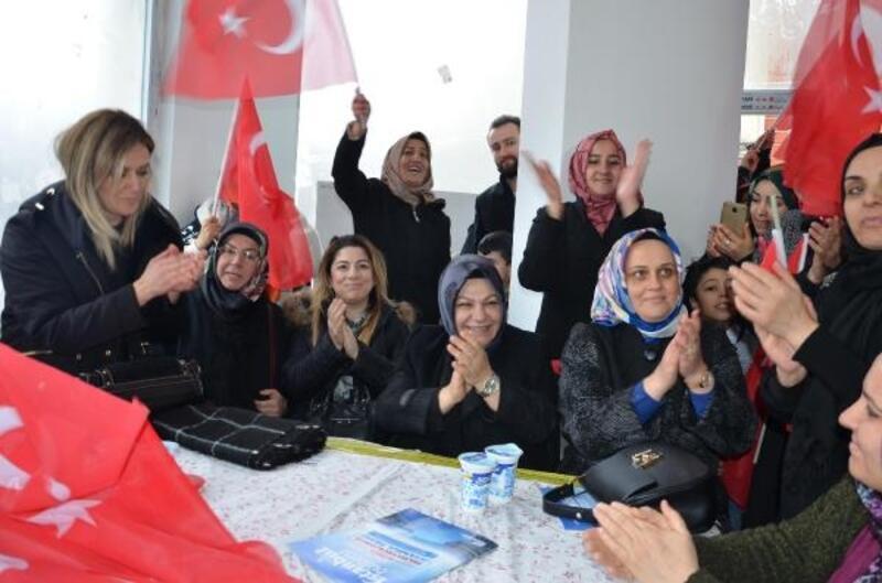 AK Parti Sancaktepe Belediye Başkan Adayı kadınlarla buluştu