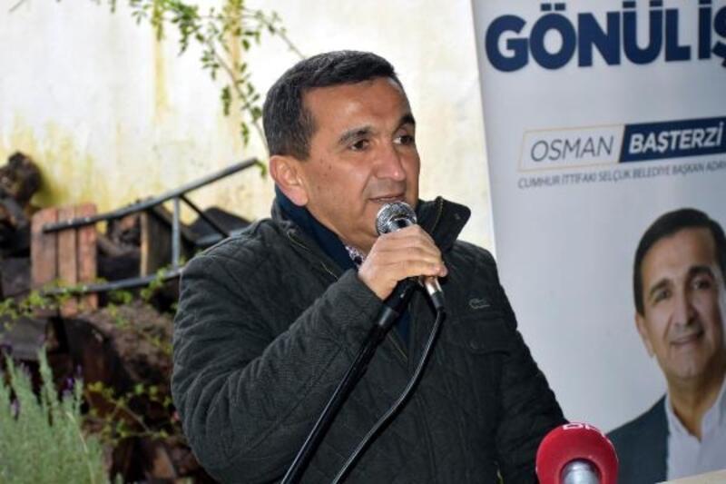 Cumhur İttifakı Adayı Osman Başterzi, vatandaşlarla kahvaltı yaptı