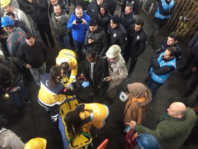 Zonguldak'ta maden ocağında göçük; madenci 3 saatte kurtarıldı