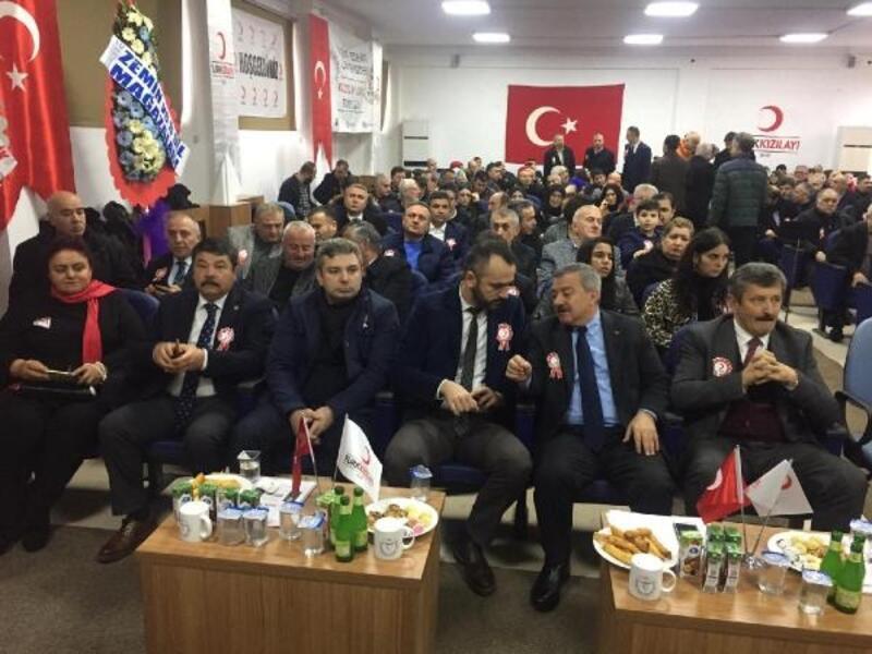 Türk Kızılayı Derneği Zonguldak Şubesi başkanını seçti