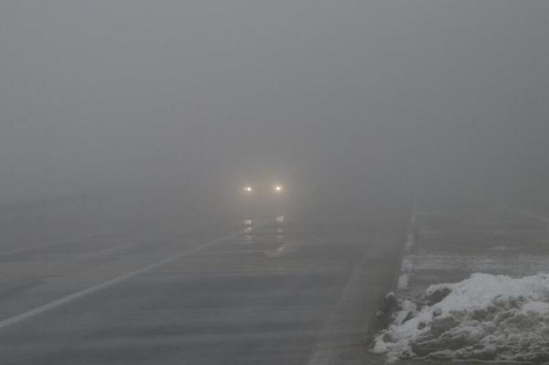 Bolu Dağı'nda sis ulaşımı etkiliyor