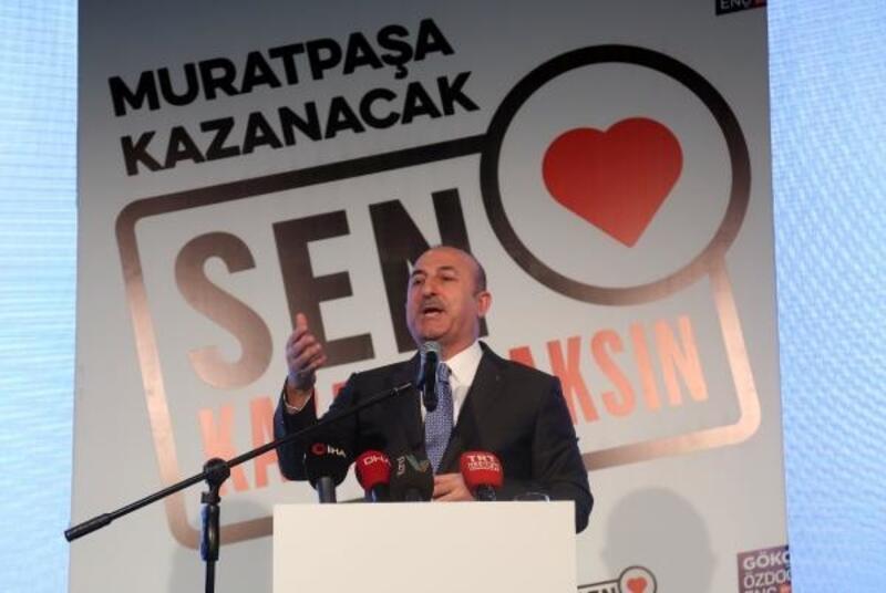 Bakan Çavuşoğlu: O ittifakın içinde sırtını Kandil'e dayayan bir parti var