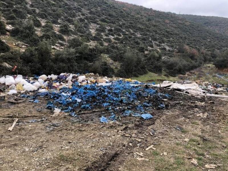 İznik'te vadideki kirliliğe tepki