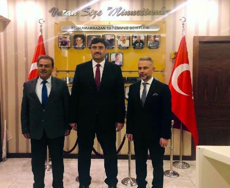 Ertürk ve Oğuz seçim çalışmalarına başladı
