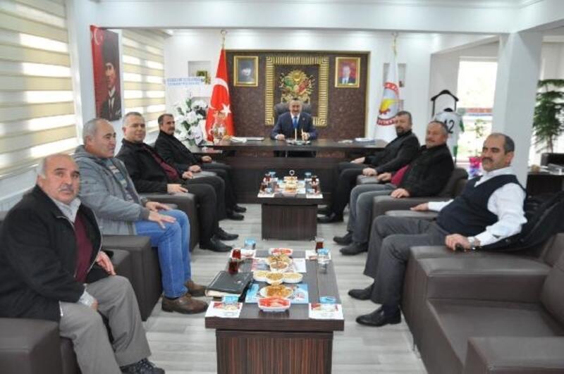 STK'lardan Başkan Tutal'a ziyaret