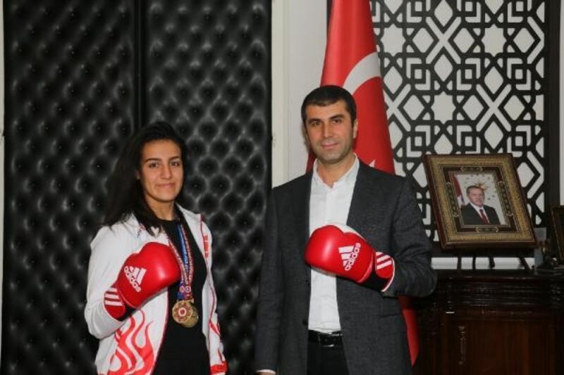 Şampiyon'dan, Başkan Arslan'a ziyaret