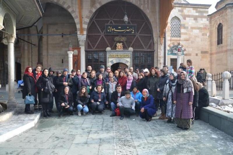 Engelli çocuklar ile gençler Kapadokya ve Konya'yı gezdi