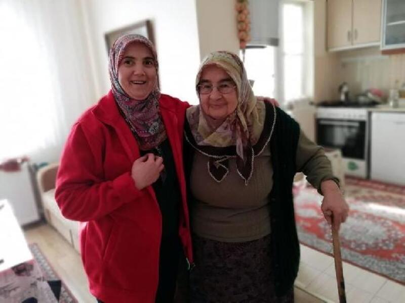 Mengen'de yaşlı ve hastalara evde destek