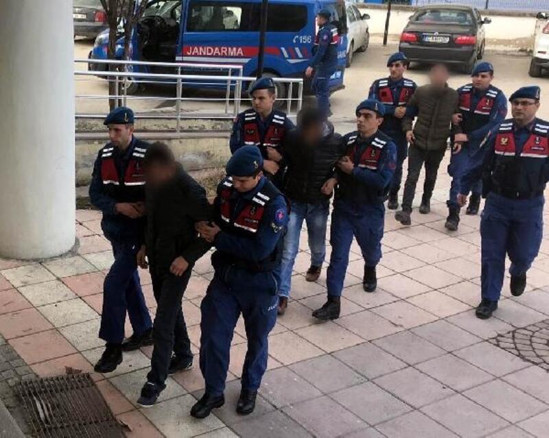 Kastamonu'da uyuşturucuya 4 tutuklama