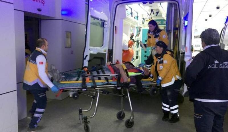 Fabrikada düşen işçi ağır yaralandı
