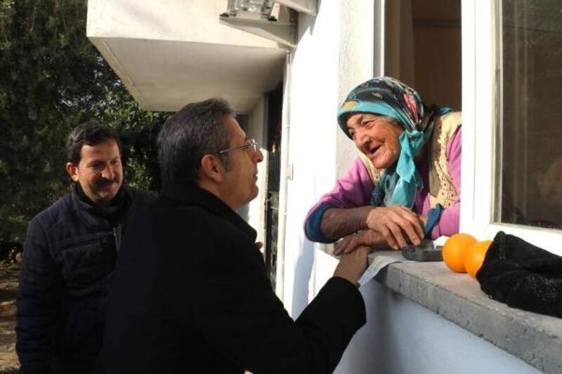 Başkan Pamuk çalışmaları denetledi, vatandaşları dinledi