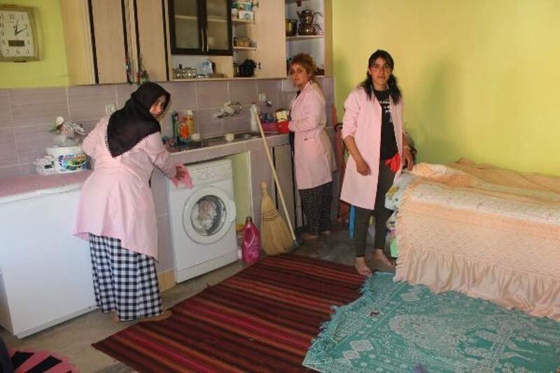 Yedisu'da evde bakım hizmeti