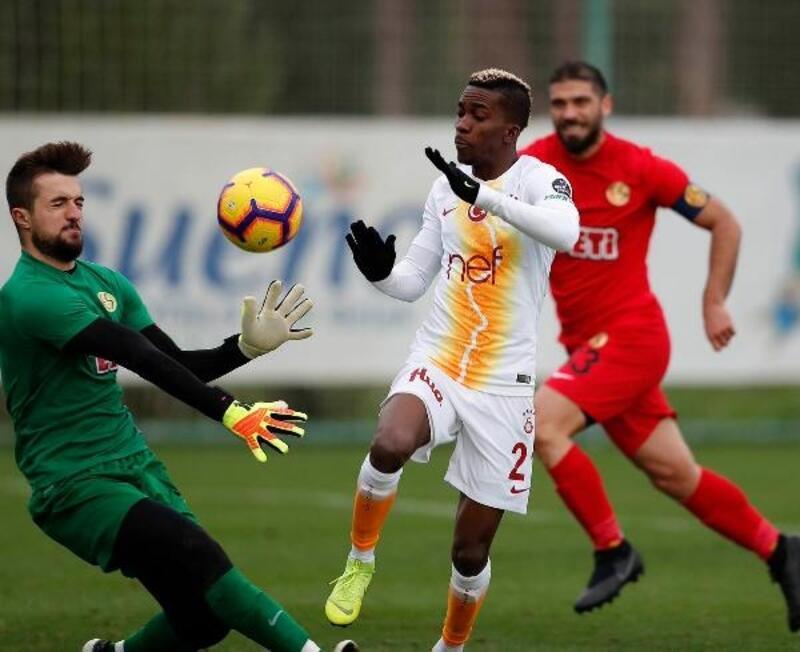 Galatasaray, Eskişehirspor ile 3-3 berabere kaldı