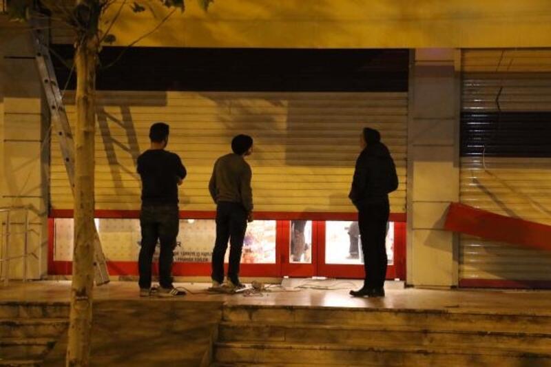 Diyarbakır'da markette silahlı soygun