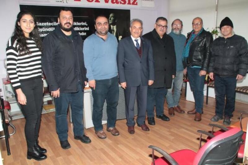 Başkan Akkaya, 10 Ocak Çalışan Gazeteciler Günü'nü kutladı
