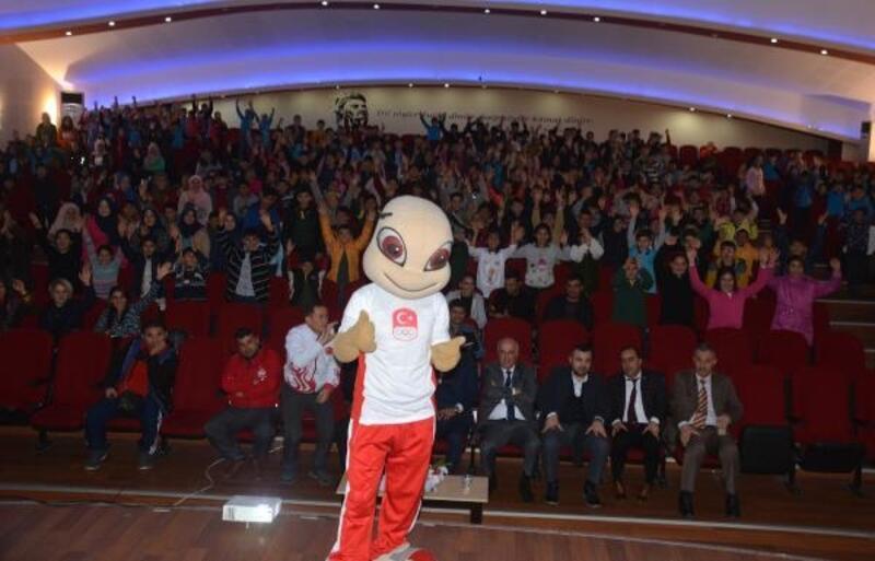 Kırıkhan'da 'Spor Kültürü ve Olimpik Eğitim Projesi' etkinliği düzenlendi