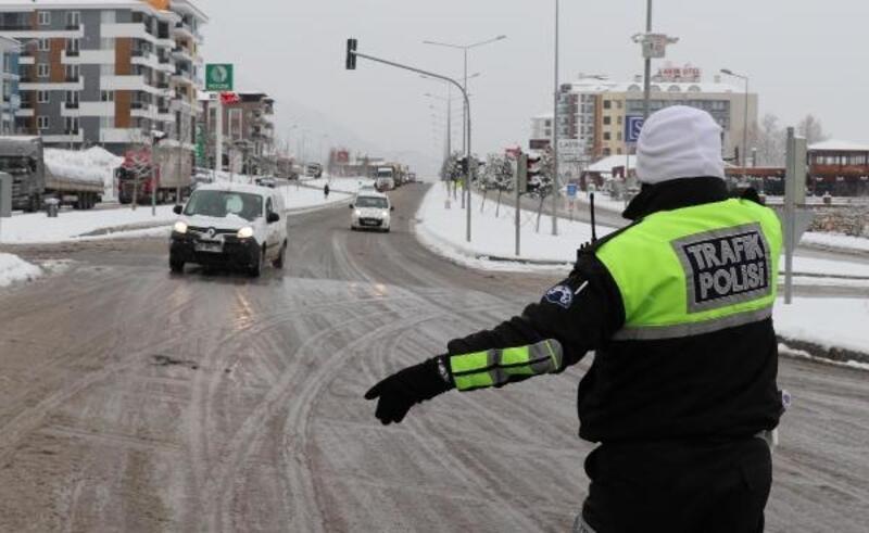 Denizli'de okullara kar tatili