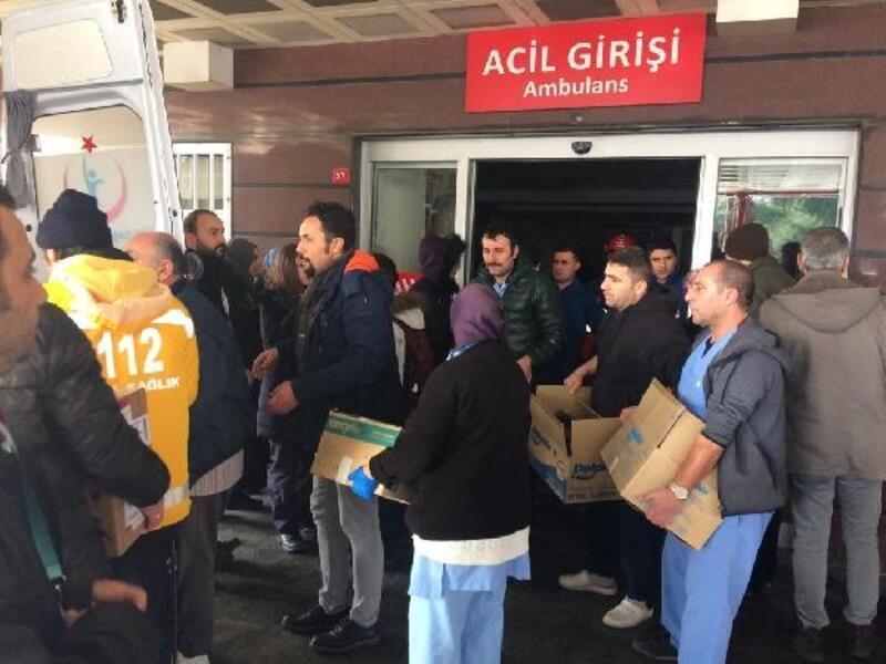 İstinat duvarı çöktü, Eyüpsultan Devlet Hastanesi boşaltıldı