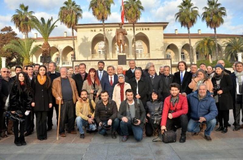 Mersin'de 10 Ocak kutlaması