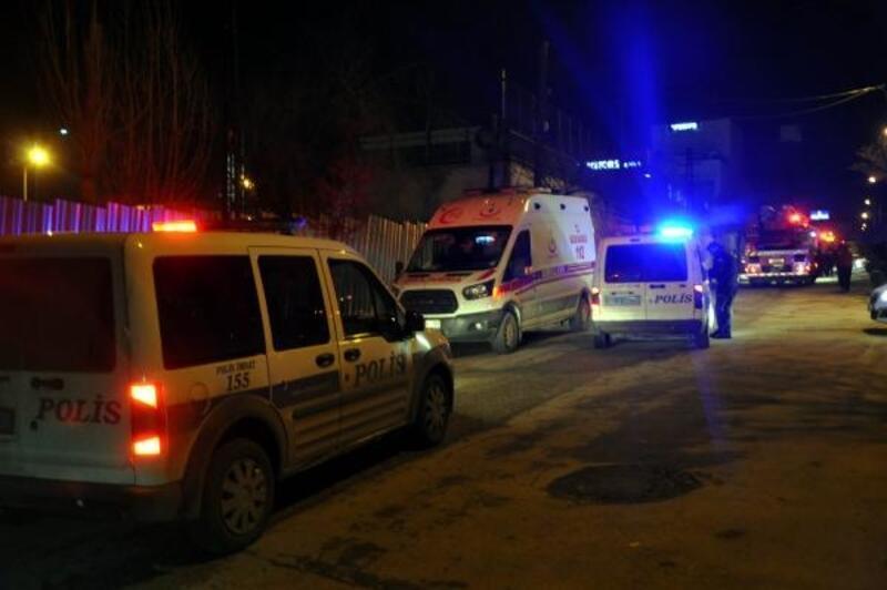 Ankara'da kapatılan 'FETÖ' yurdunda yangın