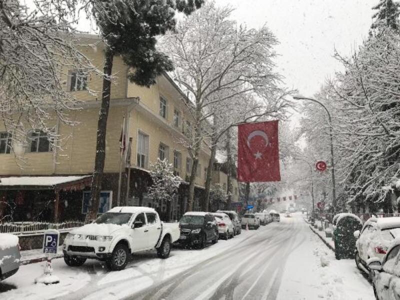 Kar yağışı Pozantı ve Akçatekir'i etkisi altına aldı