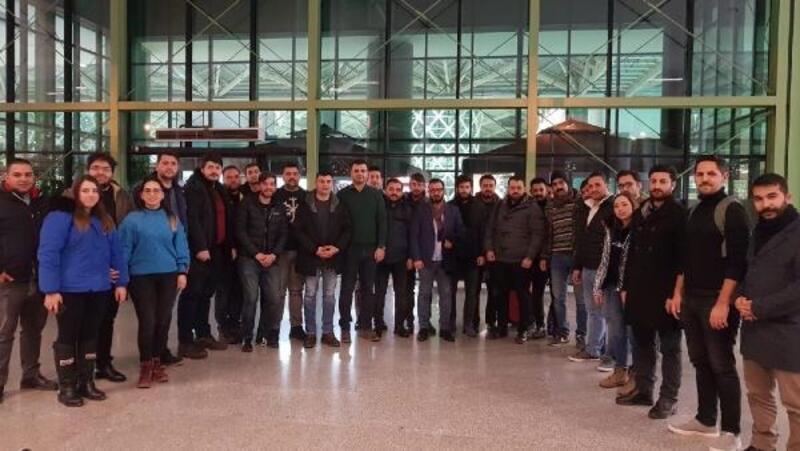 AK Partili gençler Erciyes'te kampa girdi