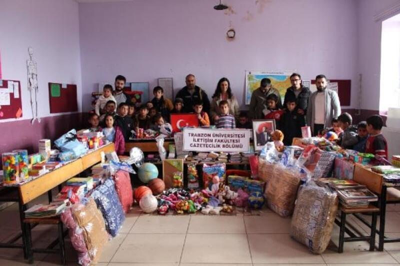 Trabzon Üniversitesi öğrencilerinden yardım
