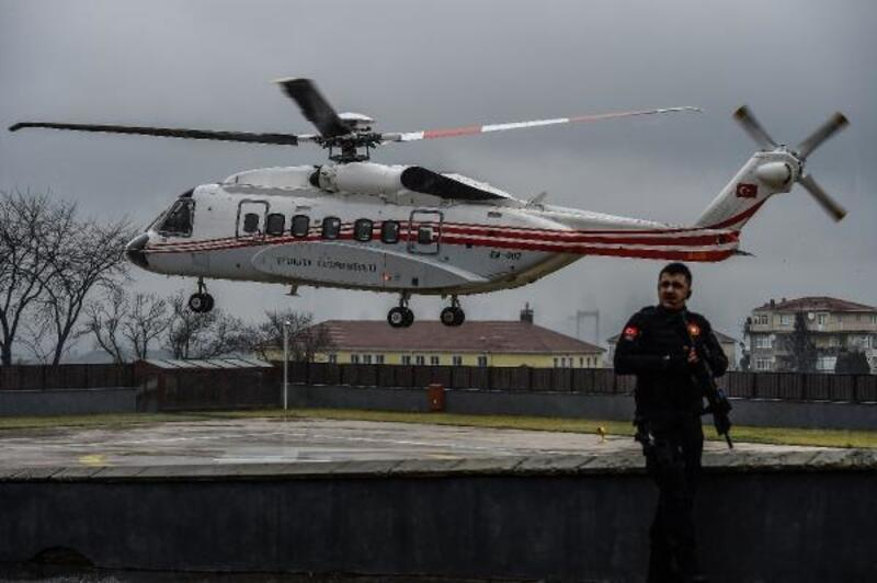 Cumhurbaşkanı Erdoğan helikopter ile Kocaeli'ne gitti
