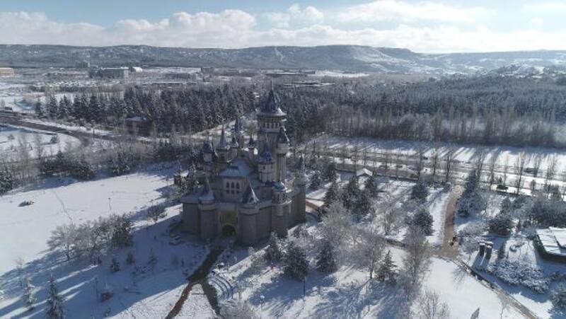 Eskişehir'den göz kamaştıran kar manzaraları