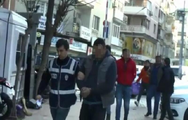 Ödemiş'teki suç örgütü operasyonunda 8 kişi tutuklandı