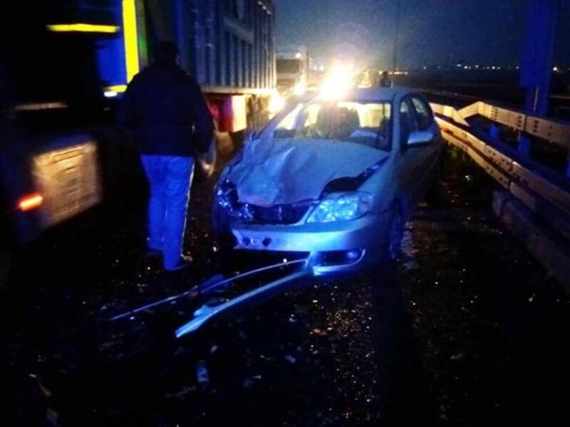 Manisa'da iki otomobil çarpıştı: 7 yaralı