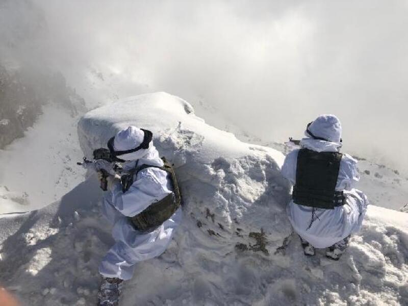 Cudi Dağı'nda PKK'lı teröristlerin kullandığı 6 yaşam alanı bulundu