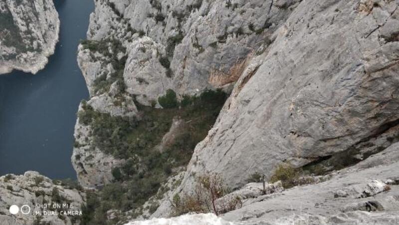 Kanyondaki Türkmen dağcının cansız bedeni, 3 günde çıkarılabildi