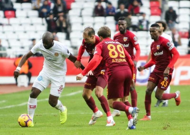 Antalyaspor- İstikbal Mobilya Kayserispor: 0-0