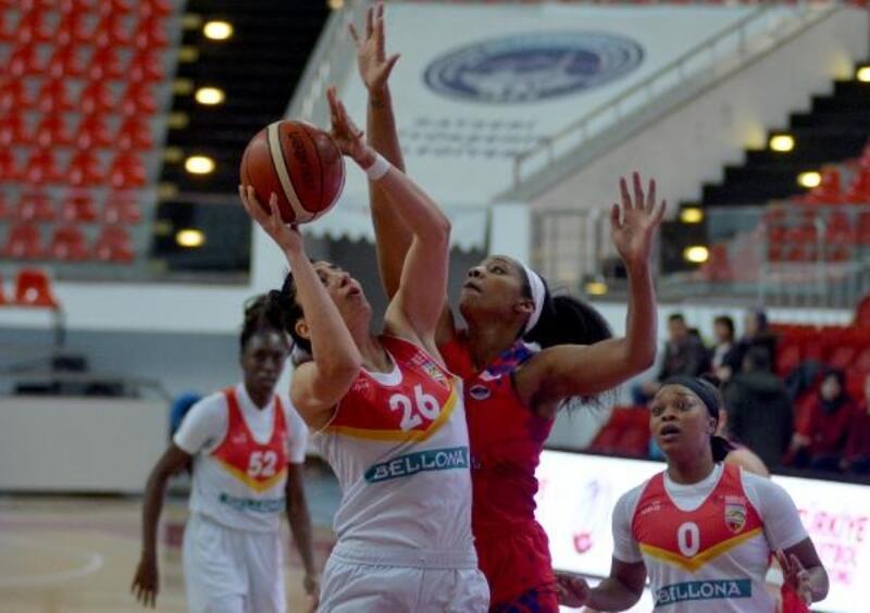 Bellona Kayseri Basketbol - Mersin Büyükşehir Belediye: 74 - 89